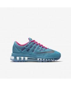 Nike Air Max 2016 Trainer sneakers Gamma Blau / Schwarz / Ghost Grün / Reflektieren Silber