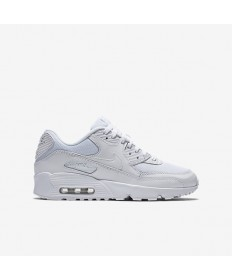 Nike Air Max 90 Mesh-Trainer Weiß / Weiß