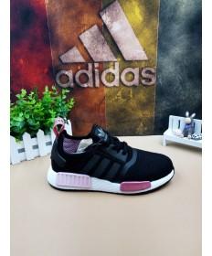 Adidas NMD Moskau Trainer schwarz weiße Rose