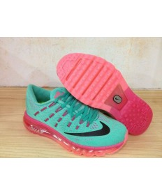 Nike Air Max 2016 sneakers Türkis / Schwarz / Rosafür damen
