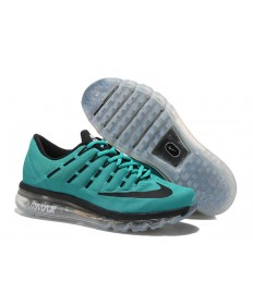 Nike Air Max 2016 Dunkle Cyan / Schwarz Trainersneakers