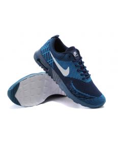 Nike Air Max Thea Trainer sneakers dunkle schieferblau / tief himmelblau / weiß für Herren