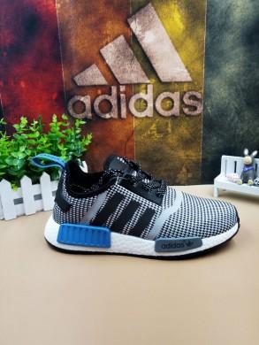 Adidas NMD Los Angeles Trainer schuhe grau schwarz blau