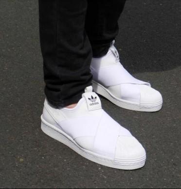 Adidas Superstar beleg auf alle weißen sneakersn