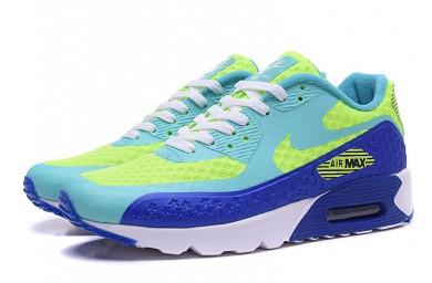NIKE AIR MAX 90 HYP PRM Independence Day hellen Himmel blau-fluo-royal blau sneakers schuhe