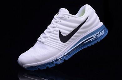 Bequem Nike Air Max 2017 Violett Blau Weiß Factory Damen