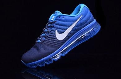 Nike Air Max 2017 Trainersneakers tiefblau-königsblau für Herren