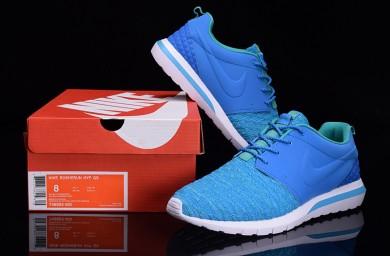 Nike Roshe Run Hyp QS 3M sneakers Dodger blau / Deep Sky blau / Türkis