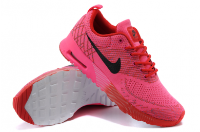 Nike Air Max Thea Trainersneakers heiß Rosa/ Rot / Schwarz für damen