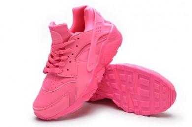 Nike Air Huarache Licht Lachs rote sneakers schuhe für damen