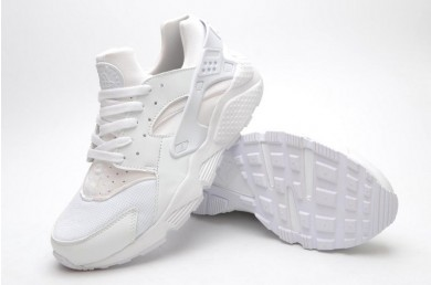 Nike Air Huarache Triple-weiße schuhe