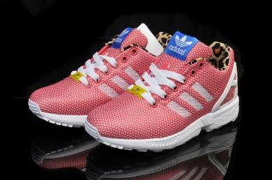 Adidas ZX FLUX schuhe der damen der lachsrosa Trainer