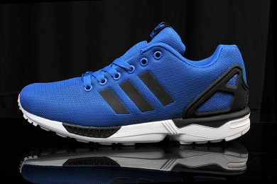 Adidas ZX FLUX herrenkönigsblau / schwarz Trainer