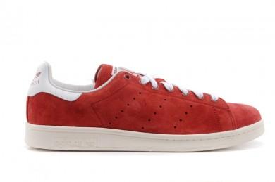 Adidas Stan Smith Firebrick / weiße sneakers