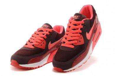 Nike Air Max 90 Kinder sneakers schuhe schwarz-rot