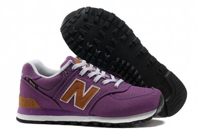 New Balance 574 Lila sneakers für damen