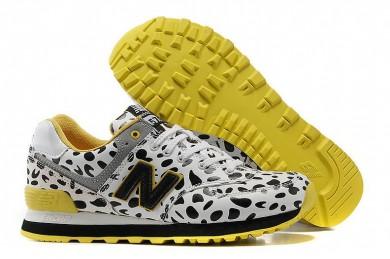 New Balance 574 Kühe Weiße Sneaker für damen