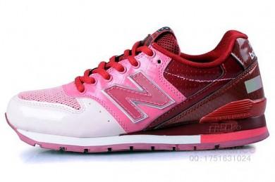 New Balance 996 Weiß, Rosa-Trainer-schuhe der damen