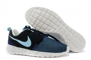 Nike Roshe Run NM BR 3M New Air Force blau / Kohle schwarz / Segel weiß / Sky blau schuhe für Herren