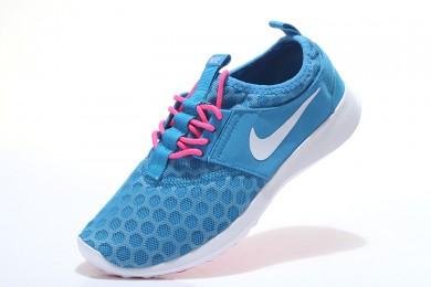 Nike Roshe Run Hyp QS Deep Sky Blau / Deep Rosa/ Weiß für damen Trainer