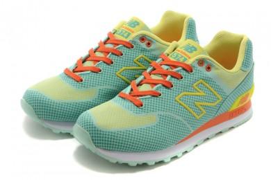 New Balance ML 574 GY grün, gelb, orange sneakers Trainer