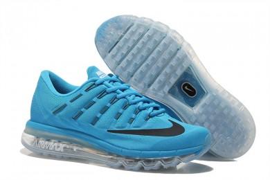 Nike Air Max 2016 Deep sky blau / schwarze sneakers sneakers für Herren