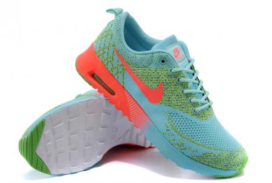 Nike Air Max Thea Medium Turquoise / orange-rot / gründamen sneakers