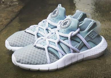 """Nike Air Huarache NM """"GREY Weiß"""" sneakers grau / blau alice"""