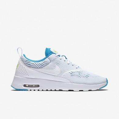 Nike Air Max Thea EM Trainersneakers Weiß / Blaue Lagune / Ghost Grün / Weiß