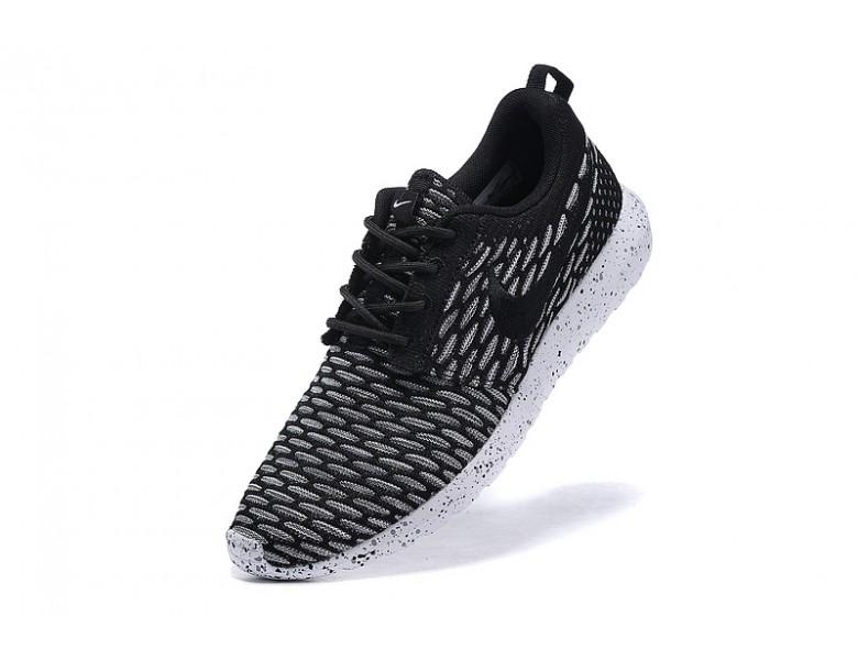 grau Nike für Herren schwarze Dim Billig Flyknit Run Roshe l13TFcKJ