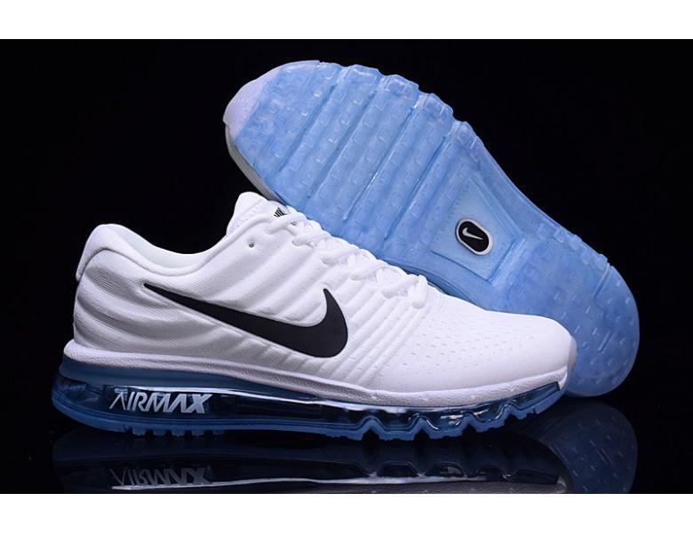 Nike Air Max 2017 weiß royal blaue sneakers für Herren de